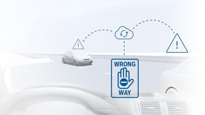 wrong-way-warning di Bosch, la mobilità connessa al servizio della sicurezza
