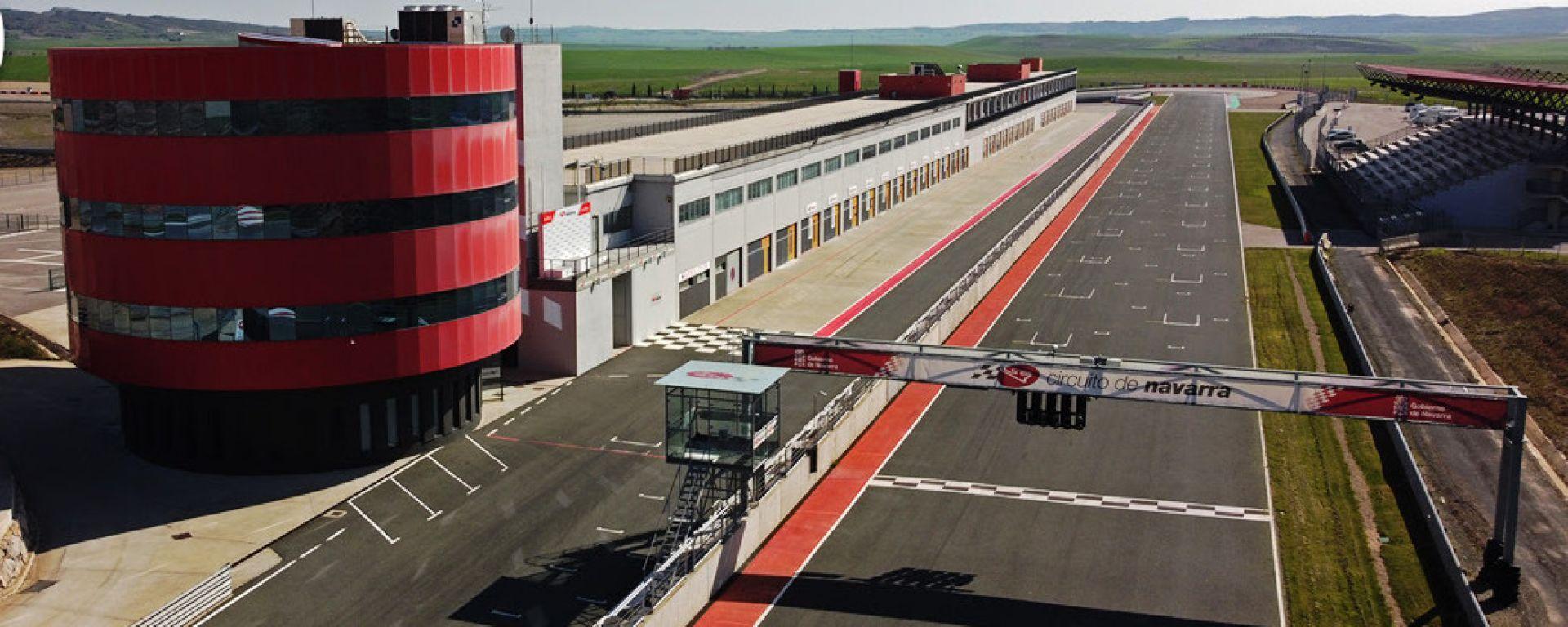 WSBK 2021: veduta del Circuito de Navarra