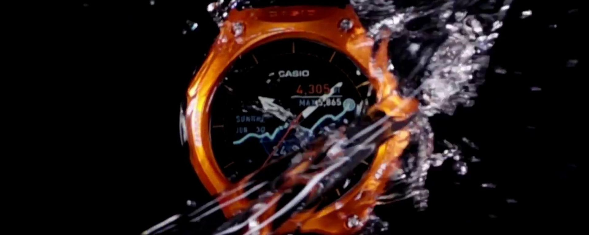 Casio WSD-F10, lo smartwatch a prova di tutto