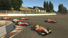 WSeries Esports, Spa, partenza di gara 3