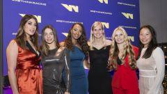WSeries Gala: da sx Piria Garcia Schiff Visser Wohlwend Koyama
