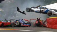 W Series: Chadwick in pole a Spa dopo un terrificante incidente