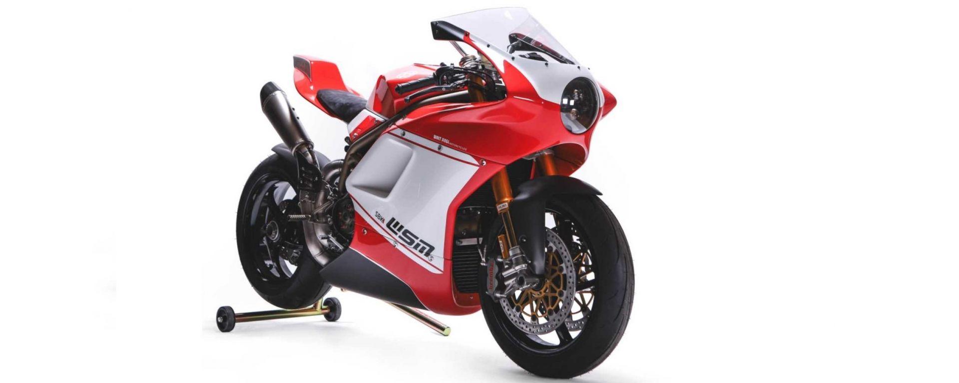 WSM SBK: ecco l'ultima special su base Ducati di Walt Siegl