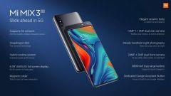 Xiaomi Mi MIX 3 5G: Specifiche tecniche