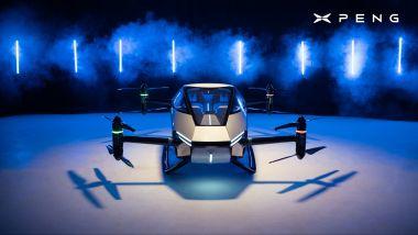 Xpeng a Monaco, l'auto volante X2