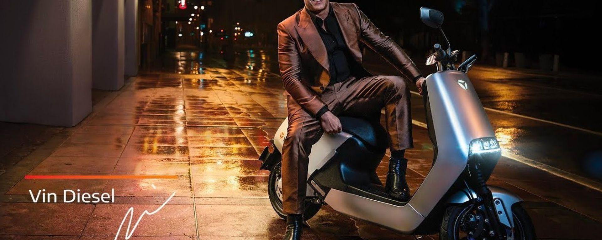 Yadea G5 è l'arma segreta di Vin Diesel