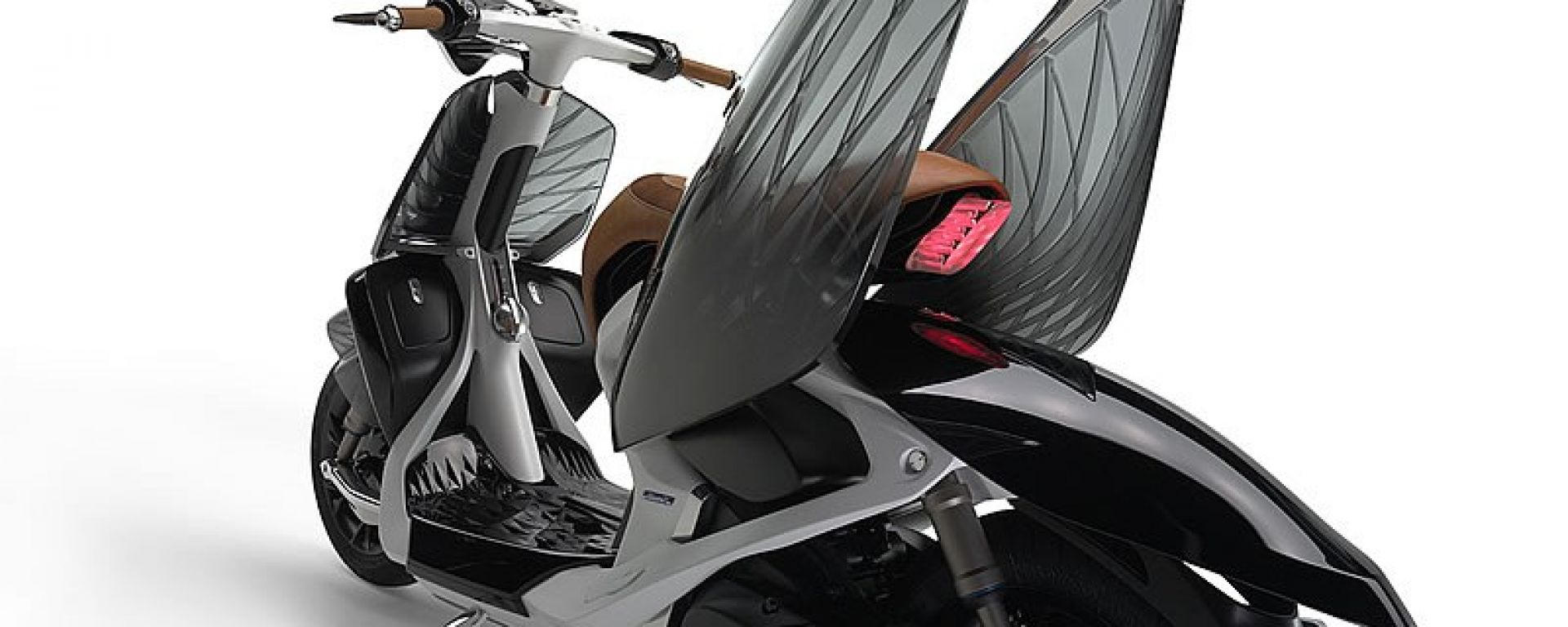 Yamaha 04GEN, lo scooter venuto dal futuro