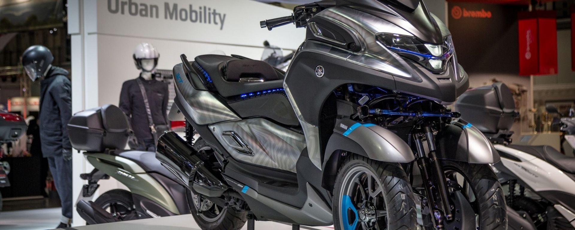 Yamaha 3CT Concept a Eicma 2018