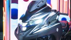 Yamaha 3CT: dettaglio fari
