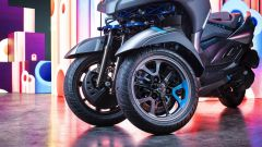 Yamaha 3CT: dettaglio ruote