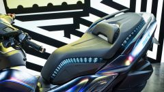 Yamaha 3CT: dettaglio sella