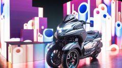 Yamaha 3CT: il prototipo di scooter a tre ruote