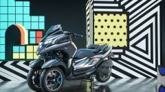 Yamaha: moto e scooter a tre ruote in mostra a Parco Valentino