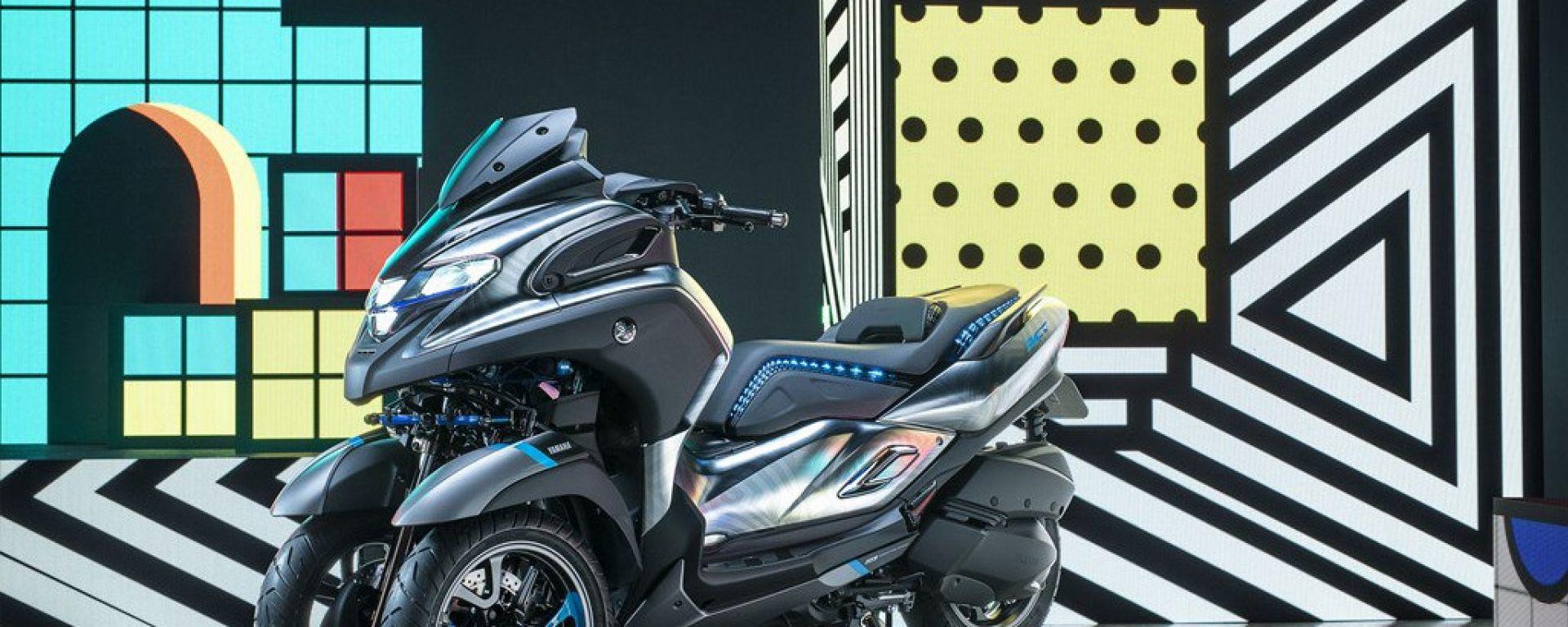 Yamaha 3CT: in futuro potrebbe chiamarsi Tricity 300