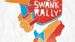 Yamaha Deus Swank Rally Milano Rumble 2017 locandina