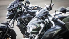 Yamaha e Kawasaki: dettaglio dei cupolini