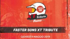 Yamaha: Faster Sons XT Tribute arriva a Roma - Immagine: 2