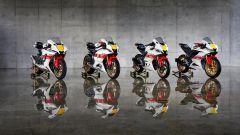 Yamaha: R1, R7, R125 e R3 con livrea 60°Anniversario. Le foto