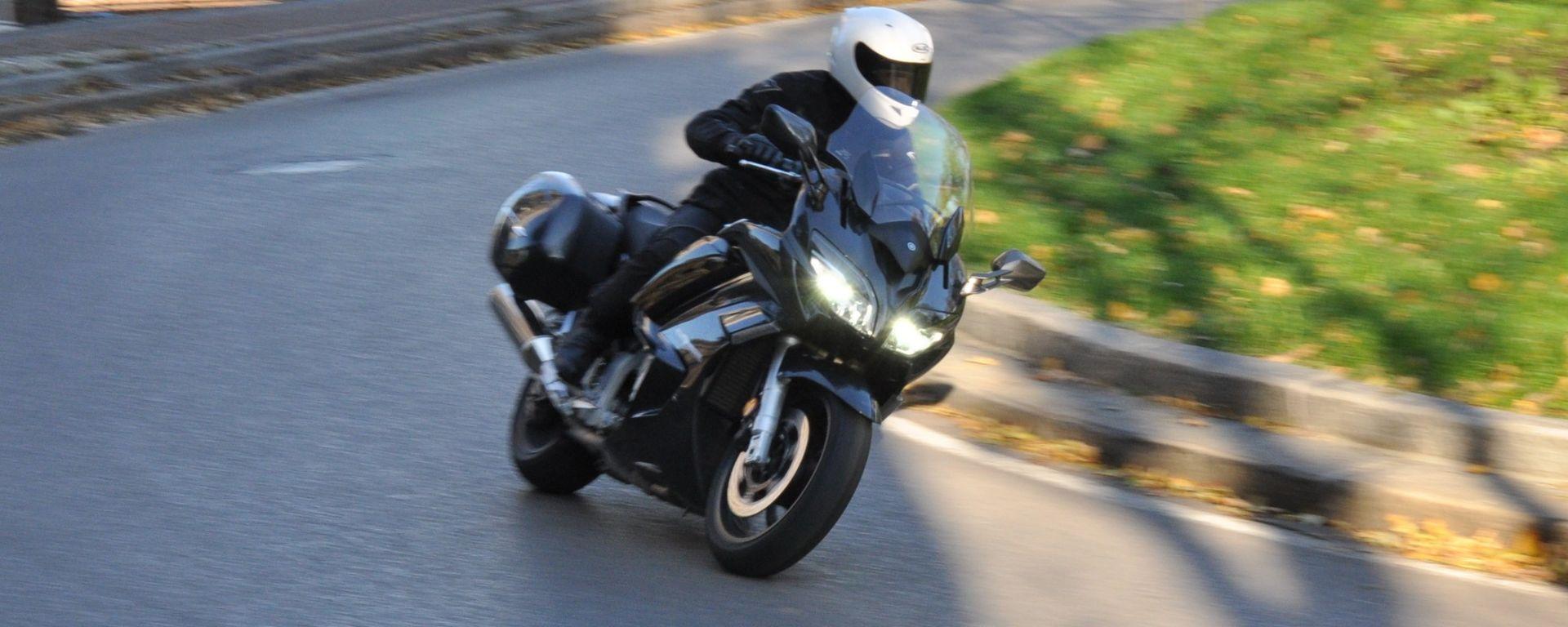 Yamaha FJR1300A 2016, la prova