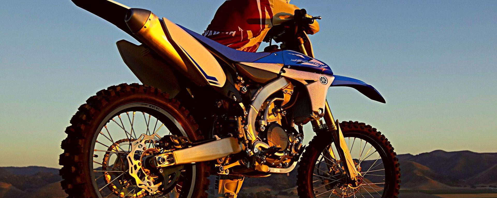 Yamaha gamma offroad 2013: le prove