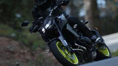 Yamaha: la nuova MT-09 introduce il cambio elettronico, sfruttabile in salita di rapporto