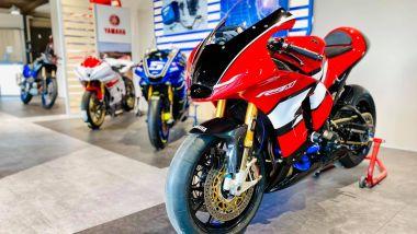 Yamaha: la R9M è realizzata da un meccanico della concessionaria Venezia Moto