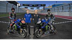 Yamaha Monster Energy MotoGP 2021 - Fabio Quartararo, Maio Meregalli, Lin Jarvis e Maverick Vinales