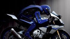 MOTOBOT sfida Valentino Rossi