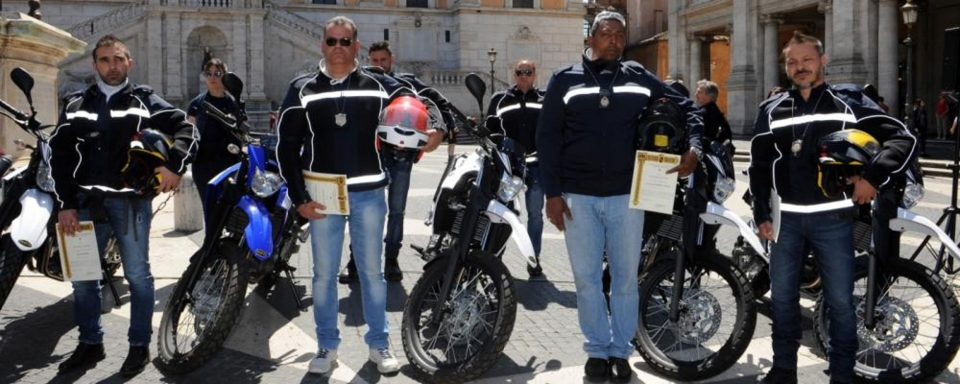Yamaha Motor e la Polizia di Roma Capitale