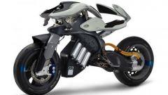 Yamaha MOTOROiD concept vista 3/4 frontale