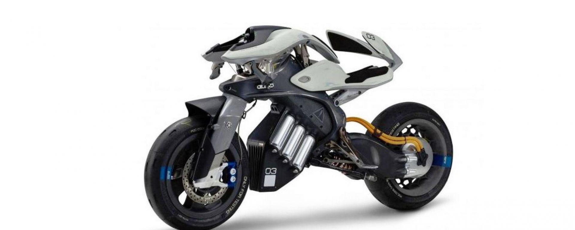 Yamaha Motoroid: intelligenza artificiale al salone di Tokyo
