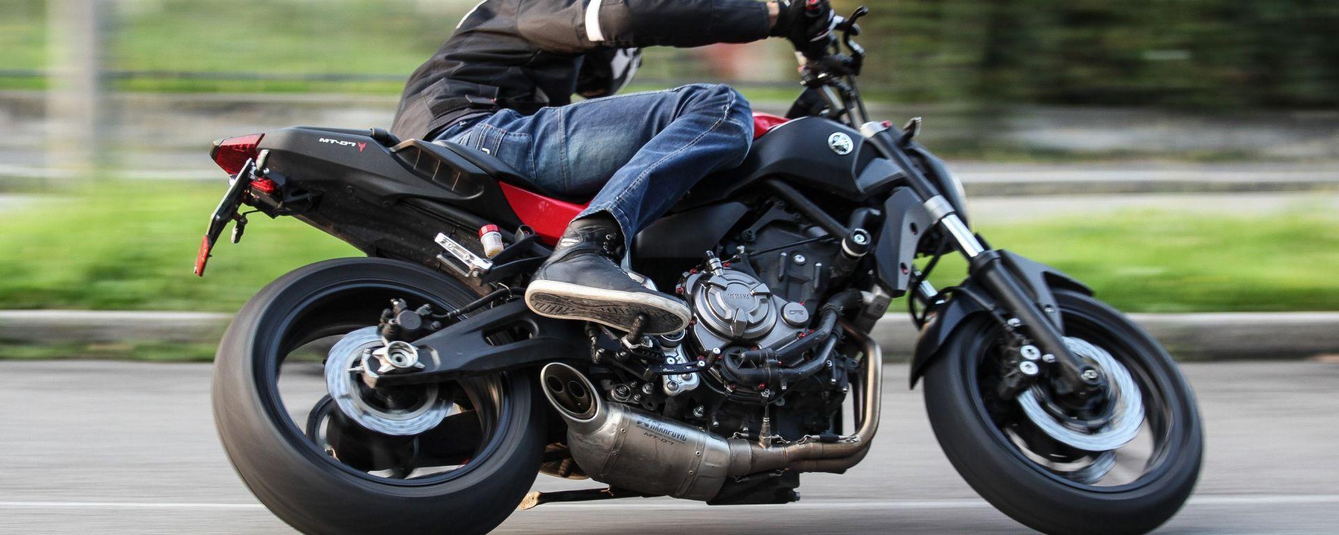 Yamaha MT-07, la prova in strada