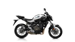 Yamaha MT-07 2017, Competition White