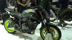 Yamaha MT-07 2018 a Eicma 2017