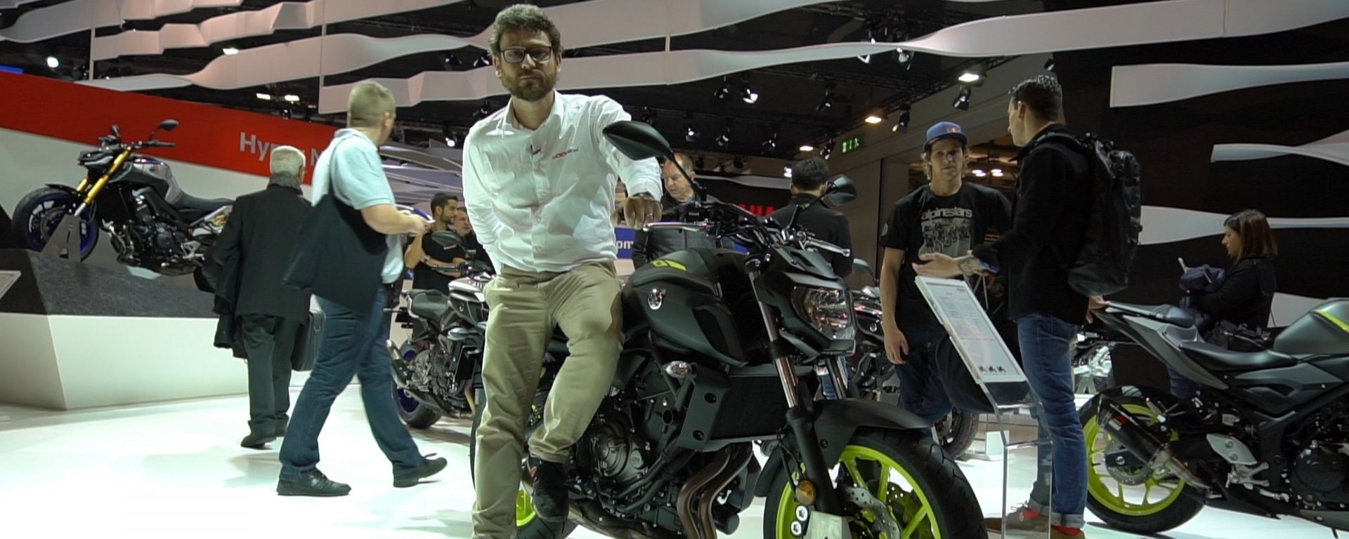 Yamaha MT-07 2018: si è rifatta il look [VIDEO]