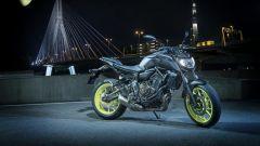 Yamaha MT-07 2018, vista frontale