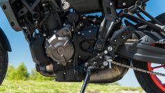 Yamaha MT-07 2020, il bicilindrico CP2 da 698 cc