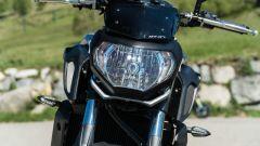 Yamaha MT-07 2020, il gruppo ottico anteriore