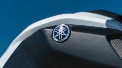Yamaha MT-07 2020, il marchio sul serbatoio