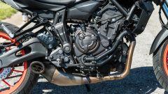 Yamaha MT-07 2020, il motore bicilindrico in linea