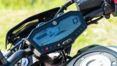 Yamaha MT-07 2020, il quadro strumenti