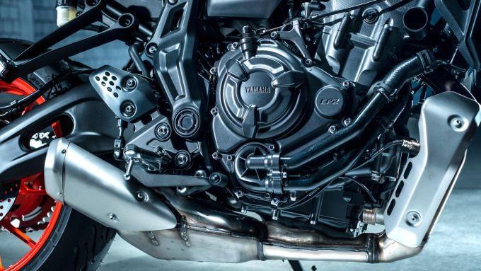 Yamaha MT-07 2021: il motore è Euro 5