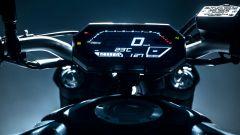 Yamaha MT-07 2021: la strumentazione LCD a colori