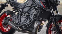 Yamaha MT-07 2021: come prima, più di prima. La prova in video - Immagine: 10