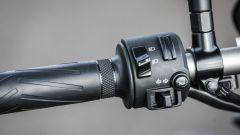Yamaha MT-07: dettaglio dei blocchetti elettrici