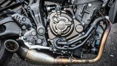 Yamaha MT-07: il motore