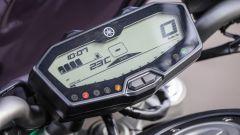 Yamaha MT-07: il quadro strumenti