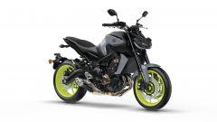 Yamaha MT-09 2017 grigia