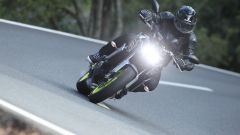 Yamaha MT- 09 2017: gruppo ottico a quattro led scarno ed essenziale
