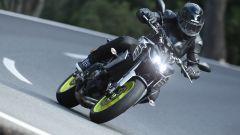 Yamaha MT- 09 2017: nella configurazione standard nessuna protezione aerodinamica